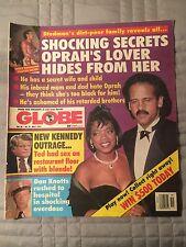 Globe Magazine 5/7/1991 Oprah, Don Knotts, Rod Stewart, Kitty Kelley Vanna White
