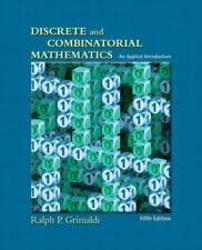 Discrete and Combinatorial Mathematics: An Applied Introduction, Fifth Edition