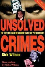 Unsolved Crimes: Great True Crimes of the Twentieth Century