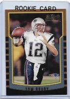 Tom Brady; 2000 Bowman Rookie Reprint Football Card #236; Mint;