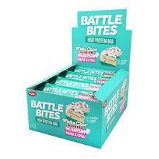 Morsi di battaglia barrette proteiche Confezione da 12 a basso contenuto di carboidrati & ZUCCHERO MORBIDA AL FORNO cioccolato Marshmallow