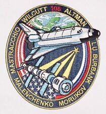 Aufnäher Patch Raumfahrt NASA STS-106 Space Shuttle Atlantis ...........A3106