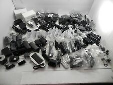 89 Piece Cell Phone Accessory Lot Chargers USB Cables Headphones Bluetooth More