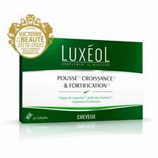 Luxéol Pousse Croissance Fortification  30 gelules 1 mois Traitement Vitamines