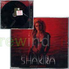 """SHAKIRA """"WHENEVER WHEREVER"""" RARE CDsingle PROMO - NEW SEALED"""