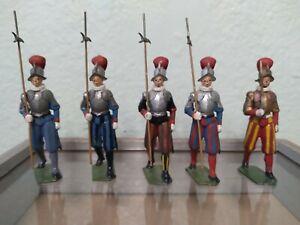 Vintage Britains LTD Guards lot of 5