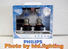 Genuine Philips WhiteVision White Vision HB3 9005 4100K headlight WHV light 60W