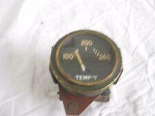 2 inch WATER TEMP GAUGE noi reso 100 a 260 Fahrenheit non JEEP fatta da ca