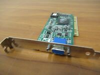 Dell K1010 ATI Rage XL 109-72300-10 8MB Ram VGA PCI Video Graphics Card #3226 E
