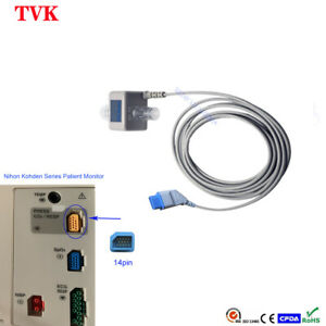 Main stream ETCO2 Sensor with Encryption Chip For Nihon Kohden Series Monitor