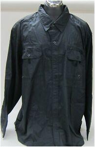 Harley-Davidson New Men's Black Long Sleeve Shirt 4XXXX Large    96022-16VM/042L