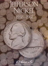 New Harris Jefferson Nickel 1938-1961 Coin Folder 2679