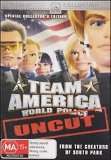 TEAM AMERICA World Police (South Park Creators) Animation COMEDY Film DVD NEW R4