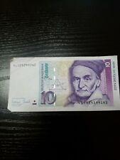 🇩🇪 Germany 10 Deutsche Mark 1993 P-38 Banknote  Paper Money