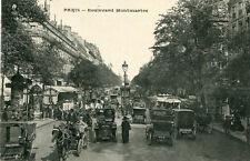Carte PARIS Boulevard Montmartre Pour le trafic