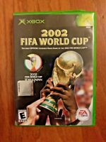 2002 FIFA WORLD CUP – MICROSOFT XBOX – VIDEO GAME BY EA GAMES