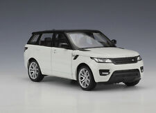Welly 1:24 Range Rover Sport Diecast Model SUV Car White New in Box