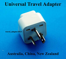 Universal to Australia China New Zealand Travel Plug Adapter Converter UK USA EU