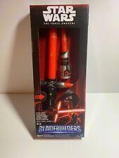 (NEW!) Star Wars Blade builders Kylo Ren Deluxe Electronic Light saber MSRP $ 44