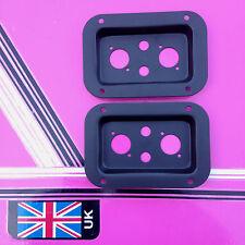 (par) Conector de Altavoz PLATO Perforados 2x XLR y 2x Jacks empotrado