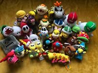 Super Mario Plush Teddy Collection - Choice of 35 Enemies Characters - UK BASED