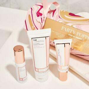 BeautyBio Pop N' Perfect Skincare + Lip Party Popper Set TRY ME SIZES!! RET $81