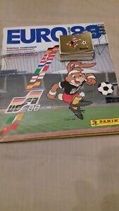 Album Panini Foot Euro UEFA 1988 en Allemagne 10 stickers au choix