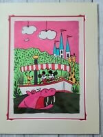 "Disney Parks Jungle Crusin' Cruise Mickey Deluxe Print by Will Gay NEW 18"" x 14"""