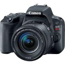 Canon EOS Rebel SL2 24.2 MP Digital SLR Camera - Black +Bag +55-250mm Lens