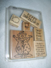 """Stampin Up  """"Party Time"""" - 6-pc set - dated 2001  Retired"""