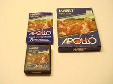 Wabbit (Atari 2600, 1982) By Apollo  (Box, Cartridge, Manual) NTSC