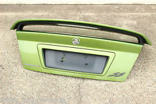 GENUINE GM VY SS BOOT LID with FACTORY SPOILER - HOT HOUSE GREEN - VZ V8 LS1 5.7