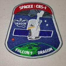OFFICIAL SpaceX CRS-1 Falcon 9 Dragon NASA Mission Patch