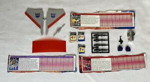 Vintage 1984 TRANSFORMERS G1 Parts Optimus Prime Fists, Missiles on Tree MORE ++