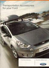 FORD Auto & Van trasporto accessori 2007 UK Opuscolo Vendite sul mercato
