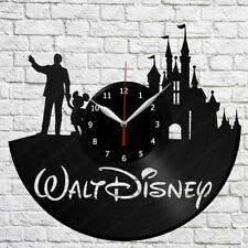 Walt Disney Vinyl Record Wall Clock Decor Art Home Handmade 12'' (30cm) 50