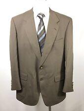 Jack Nicklaus Tournament Series Size 44R Sports Blazer Gold Button Brown Mens