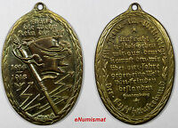 GERMANY 1914-1918 War Veterans Commemorative Medal WWI by HOSAEÜS 15,82g. (9571)