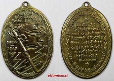 GERMANY Kyffhauser 1914-1918 War Veterans Commemorative Medal WWI signed HOSAEÜS