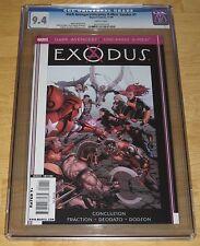 Dark Avengers Uncanny X-Men: Exodus #1 (2009 Marvel) 1st Print One-Shot CGC 9.4