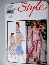 STYLE Sewing Pattern ladies dress size 8