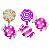 21X Sweet Candy Balloons Set Round Lollipop Balloon Birthday Wedding Party Decor