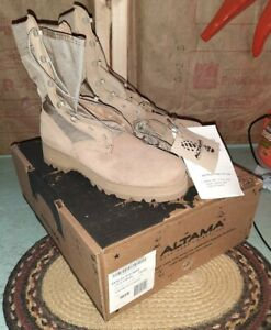 NEW Altama Hot Weather Army Combat Military Style Work Boots Tan Mens Size 7N