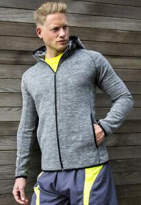 Spiro Fitness Men's Micro fleece Hoodie Quick dry