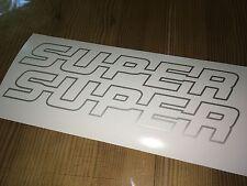 SCANIA SUPER Aufkleber   S-U-P-E-R     NEU  LKW