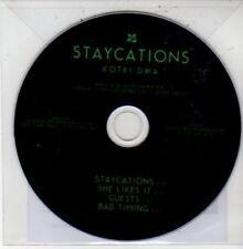 (DG103) Staycations, Kotki Dwa - 2012 DJ CD