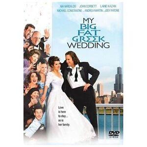 My Big Fat Greek Wedding (DVD, 2003, Widescreen/Full Screen) NEW