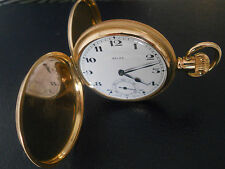 Rolex-reloj de bolsillo 18k. dorado-Double
