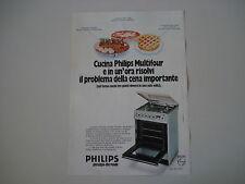 advertising Pubblicità 1977 CUCINA PHILIPS MULTIFOUR