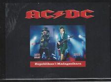 Madagascar 7768 - 2018  AC-DC  souvenir sheet unmounted mint